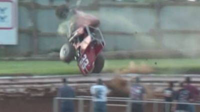 Ronnie Wuerdeman Flips Out of Turn 3 at Williams Grove