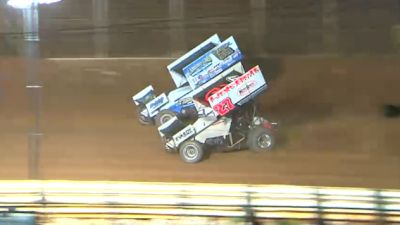 Highlights   410 Sprints at Lincoln Speedway