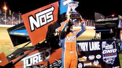 Tyler Courtney Overcomes Adversity to Claim OH Speedweek Title