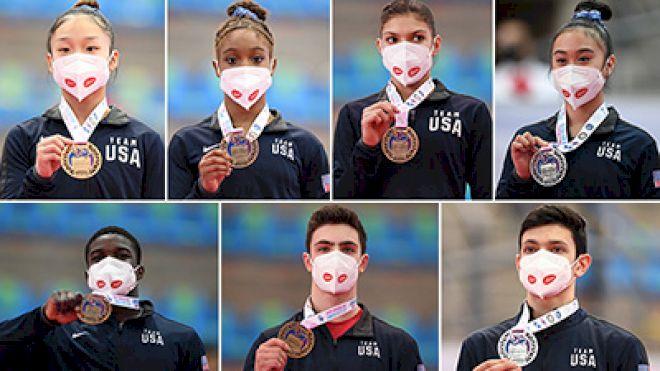 7 U.S. Gymnasts Capture 15 Medals At 2021 Junior Pan American Championships