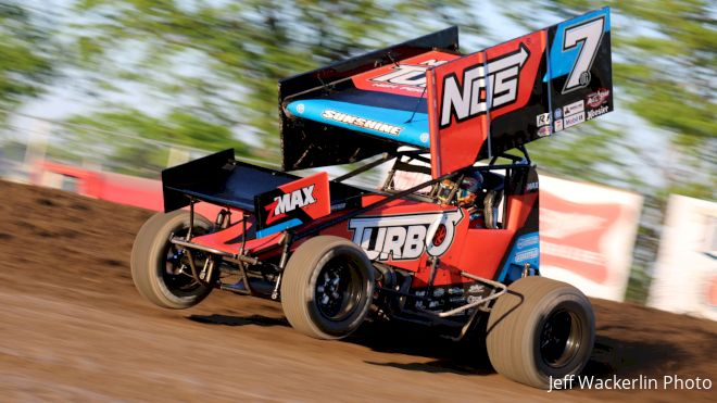 Courtney Finishes Off OH Speedweek Title, McMahan Earns First Win Of 2021