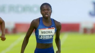 18-Year-Old Christine Mboma Dominating Pro 200m Races In Europe