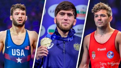 Gilman And The Seeded Wrestlers At 57kg