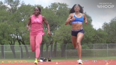 Workout Wednesday: Gabby Thomas Wicket Starts + 4x220m