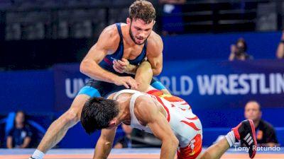 57kg Quarter-Final - Thomas Gilman, USA vs Nodirjon Safarov, UZB