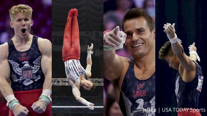 Meet The Tokyo Bound 2021 U.S. Men's Artistic Gymnastics Olympic Team