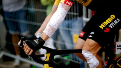 On-Site: Battered Riders Are Set For The Start Of Stage 2