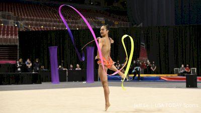 Laura Zeng - Ribbon, TEG - 2021 USA Gymnastics Championships