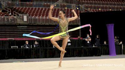 Jenna Zhao - Ribbon, World Elite - 2021 USA Gymnastics Championships