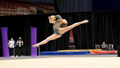 Rhythmic Highlights From 2021 USA Gymnastics Championships
