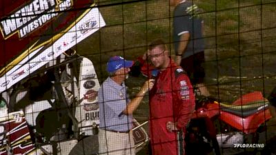 Danny Dietrich Goes 12th To 3rd For Grandview PA Speedweek Podium