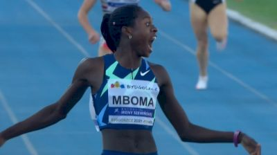 Christine Mboma Breaks 400m World Junior Record! 48.54!