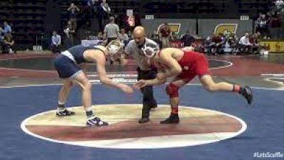 174 Semi-Finals - Brian Realbuto, Cornell vs Bo Nickal, Penn State