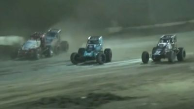 Highlights   USAC Sprints at Plymouth Speedway