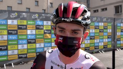 Brandon McNulty: UAE Team Emirates Content To Wait For Yellow Stage 7 2021 Tour De France