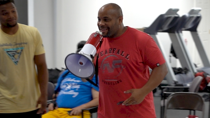 picture of Daniel Cormier Wrestling Camp