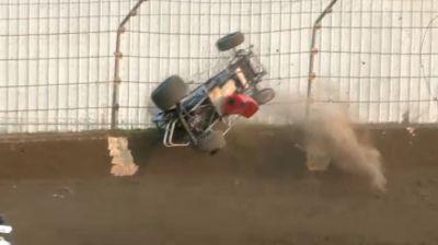 Brandon Spencer Big Flip Into The Fence At Kokomo