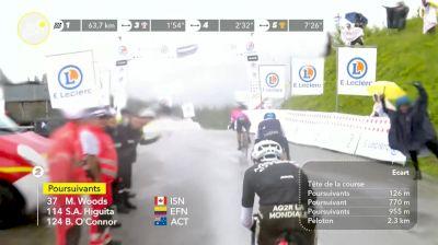 Nairo Quintna Leads Over HC Col du Pré KOM On Stage 9 - 2021 Tour de France