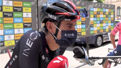 Richie Porte: Banged Up But Ready To Fight For Carapaz On Mont Ventoux On Stage 11 At The 2021 Tour De France