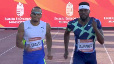 Andre De Grasse Beats Erriyon Knighton & Kenny Bednarek In 200m