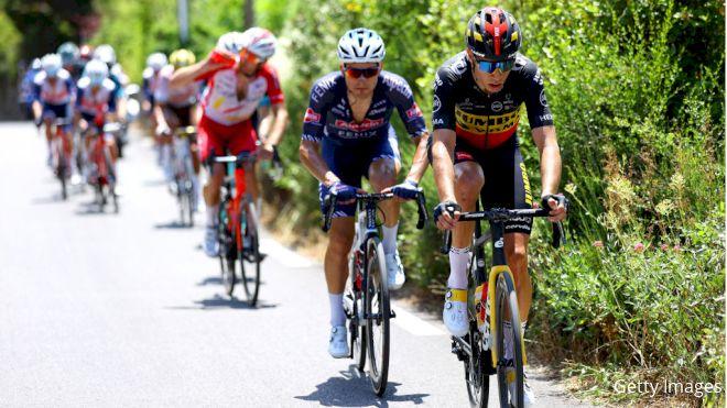 Wout Van Aert Towers On Tour de France's Iconic Mont Ventoux