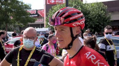 Connor Swift: 'I Knew I Wasn't On My Best Day' Stage 12 At The 2021 Tour De France