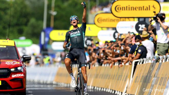 Nils Politt Wins Tour Stage 12 As Wind Denies Cavendish
