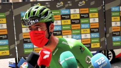 On-Site: Tour de France Peloton Celebrates Mark Cavendish's 34 Wins