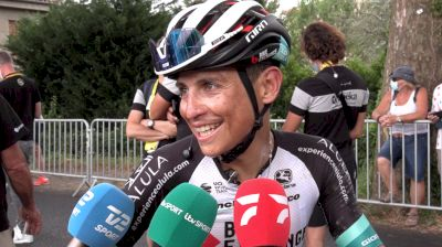 Esteban Chaves: An Intense Day In The Break On Stage 14 At The 2021 Tour De France