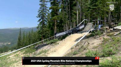 Replay:  DH - Pro Men & Women Seeding - 2021 USA Cycling Mountain Bike National Championships