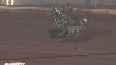 George Hobaugh Flips While Running Second at Sharon