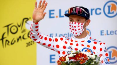 On-Site: Woods Living Up His Moment In The Polka Dot Jersey