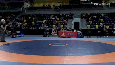 65 kg Cons 32 #2 - Dayne Morton, Unattached vs Christian Miller, Nebraska Wrestling Training Center