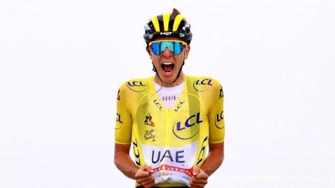 Pogacar Wins Again On Giant Tour de France Mountain