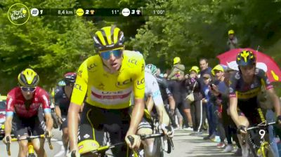 Tadej Pogacar Goes On The Offensive On Final Climb Of Stage 17