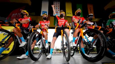 On-Site: Police Raid Bahrain Victorious Hotel Ahead Of Stage 18 Of 2021 Tour De France