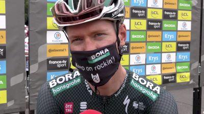Wilco Kelderman: 'It's A Good Tour For Me' Stage 18 Of The 2021 Tour De France
