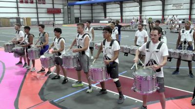 """2021 Bluecoats Spring Training: Snare Break, Percussion Standstill """"Lucy"""""""