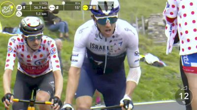Michael Woods, Wout Poels Attack For Col du Tourmalet KOM On Stage 18 - 2021 Tour de France