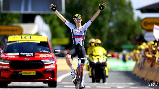 Matej Mohoric Wins Tour de France Stage 19