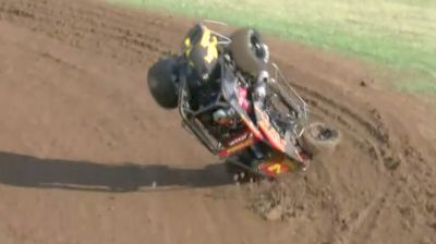 Daison Pursley Flips in Hot Laps at Jefferson County