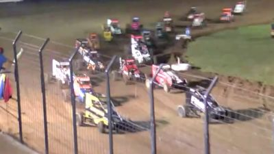 Feature Replay | USAC Midwest Midget Championship Friday at Jefferson Co.