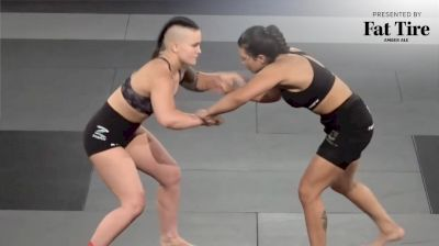 Elisabeth Clay vs Ana Vieira 2021 FloGrappling Road to ADCC