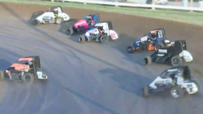 Heat Races | USAC Midwest Midget Championship Saturday at Jefferson Co.