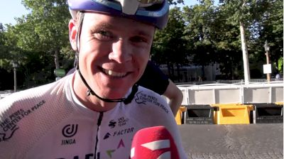 Chris Froome: The Relief Of Rolling Into Paris On Stage 21 At The 2021 Tour De France