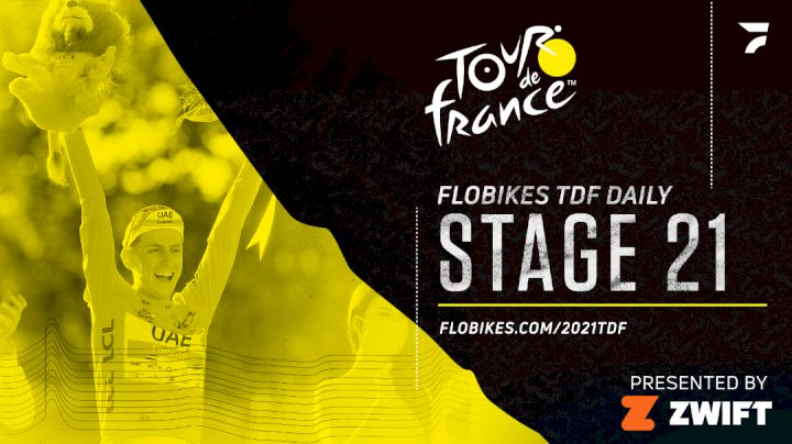 Tadej Pogacar Wins Second Tour De France In A Row   FloBikes Tour de France Daily