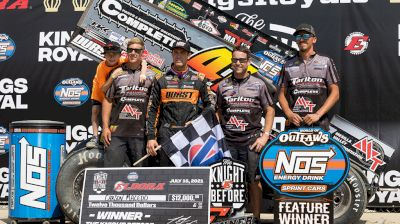 Carson Macedo Earns Seventh Outlaws Win of 2021