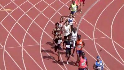 Olympian Ajee' Wilson Runs In Men's 800m Heat... Runs 1:57!
