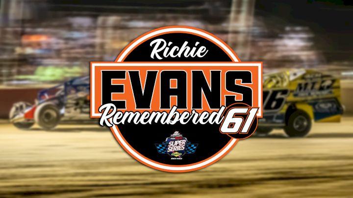 Richie Evans at Utica-Rome Speedway