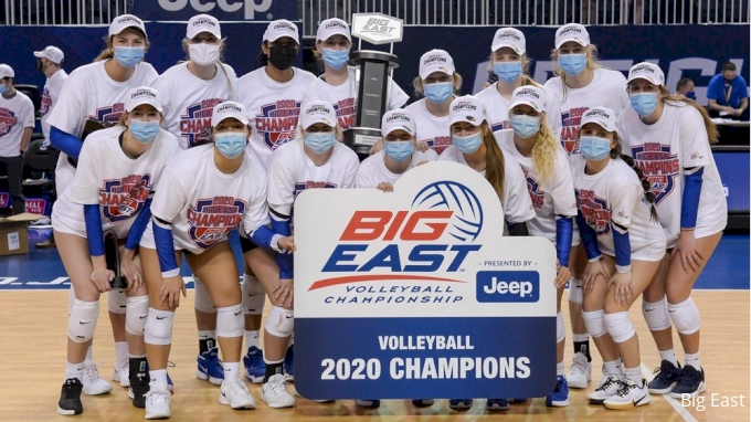 picture of Women's Big East Volleyball